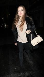 XENIA TCHOUMITCHEVA Leaves Savoy Hotel in London 02/11 ...