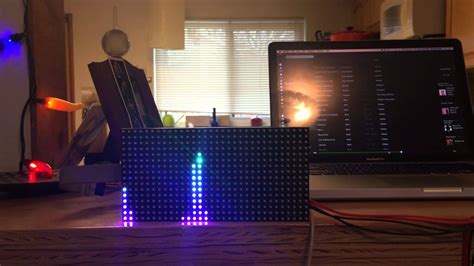 visualizer equilizer with mic arduino