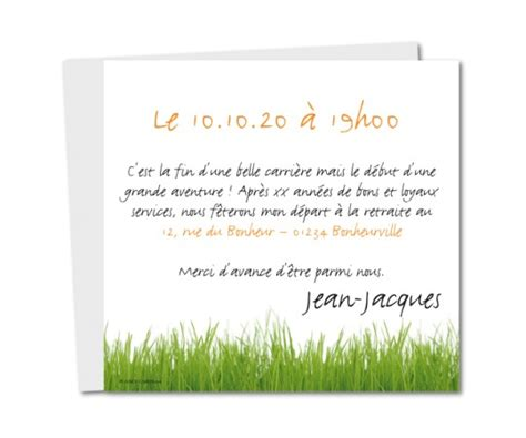 texte invitation pot depart retraite invitation depart retraite pot planet cards