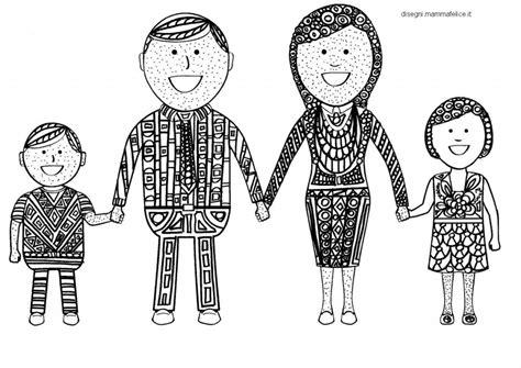 mandala per bambini da colorare mandala da colorare la famiglia felice disegni mammafelice