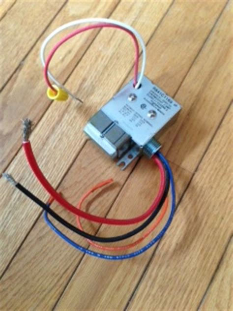 Have Honeywell Heater Relay That Wiring