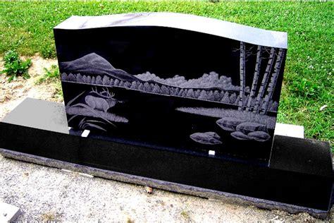 headstone designs for cl017 india black granite