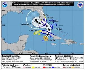 Eta Regains Tropical Storm Status  Heads To Cuba  Guatemala Searches For Landslide Survivors