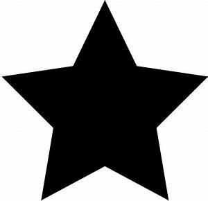 Black Star Logo Design - Free Clip Art