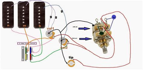 2 volume to master tbx wiring question w diagram fender stratocaster guitar