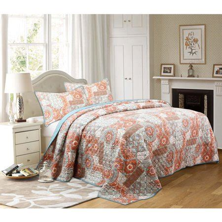 better homes and gardens quilts better homes and gardens global patchwork bedding quilt
