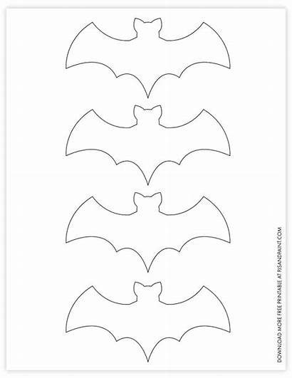 Bat Printable Template Halloween Diy Decorations Printables