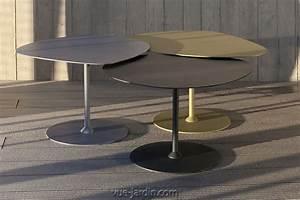 Table De Jardin Grise : matire grise table galet 2 table basse design pour ~ Dailycaller-alerts.com Idées de Décoration