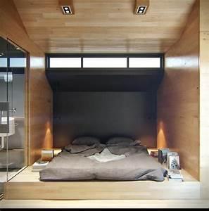 Einrichtungsideen Für Schlafzimmer : praktische einrichtungsideen f r kleine apartments ~ Sanjose-hotels-ca.com Haus und Dekorationen