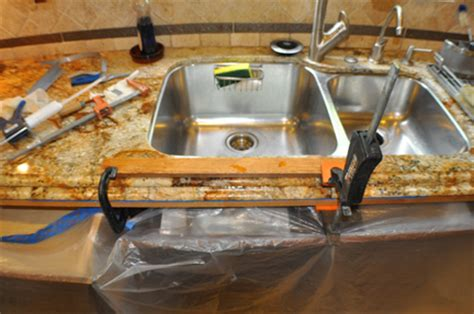 granite counter seam repair and polishing orange county