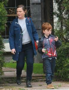 Amy Poehler picks up adorable son Abel from WeHo play date