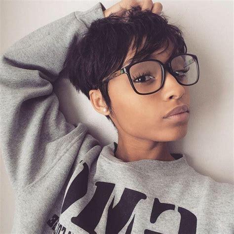 mixed girl short hairstyles fade haircut