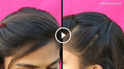 easy side puff hairstyles in 1 minute kurti blouse