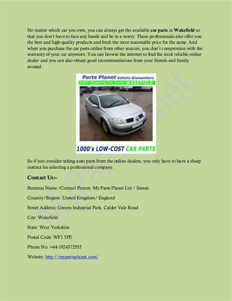 Buy Used by Benefits Of Buying Used Car Parts In Uk