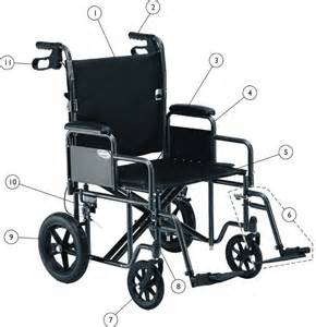 replacement parts for invacare heavy duty transport