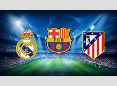 El calendario de Liga de Barça, Atlético y Real Madrid