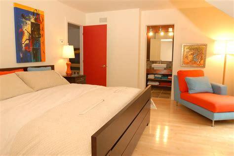 chambre bleu et jaune chambre fille orange et jaune design de maison