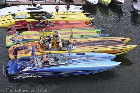 Boat Club Miami Fl by Ta Bay Run Sees An Impressive Fleet Of Offshore