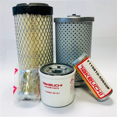 genuine takeuchi filter kit  tb tb tb tb fk  sale  united kingdom