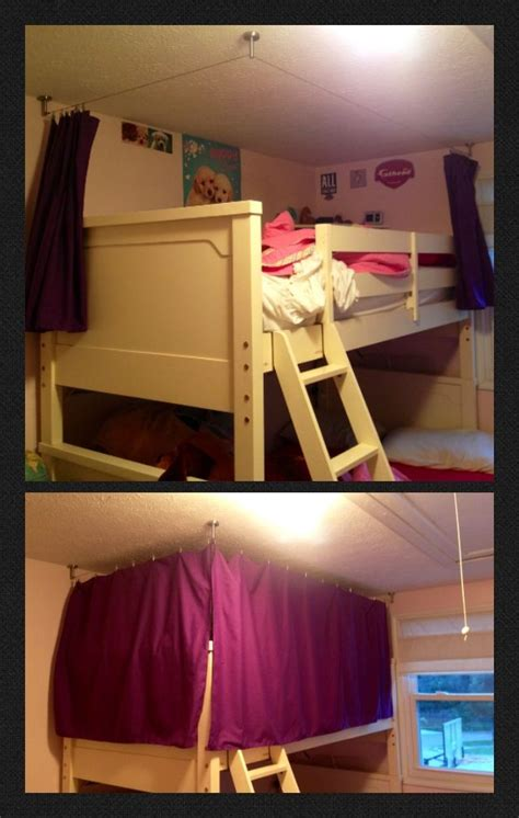 Bunk Bed Drapes - bunk bed curtains crafty sewing and an ikea gadget