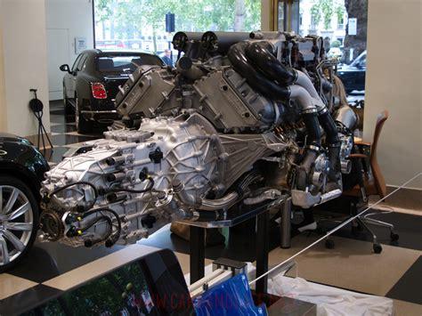 bugatti veyron  engine  gearbox  hr owen london