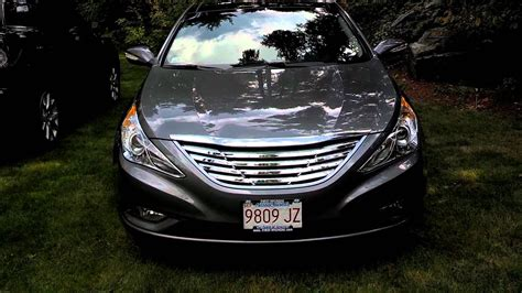 hyundai sonata  limited window tint grille