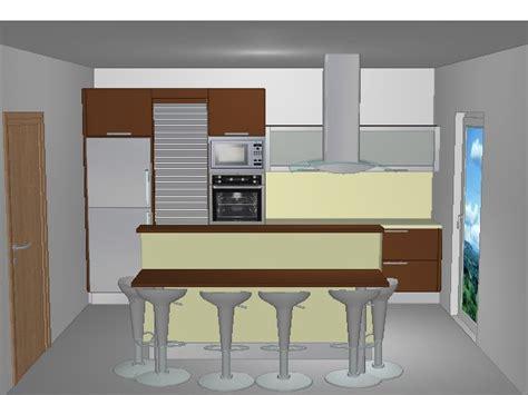 plan 3d cuisine plan de cuisine amenager cuisine moins 5 m2 cuisine