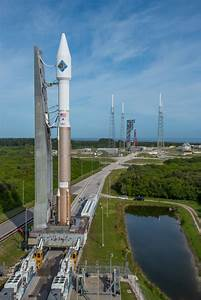 Photos: Atlas 5 rocket moves to pad with space station ...