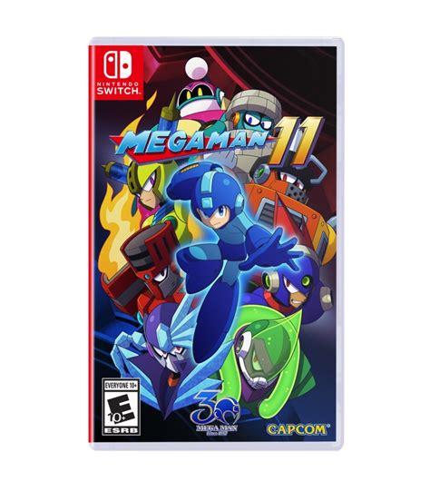 Mega Man 11 Boxart Screenshots Art Nintendo Everything
