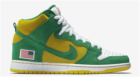 Nike SB Dunk High Oakland Athletics - Sneaker Bar Detroit