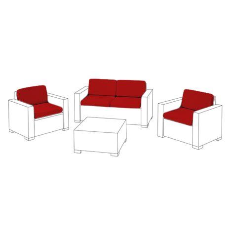 Polsterkissen Für Sofa by Polsterkissen F 252 R Keter Allibert Kalifornien Rattan