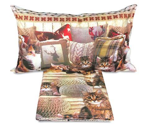 cuscini per gatti copripiumino gatto gatti cuscini misura singolo 1 piazza
