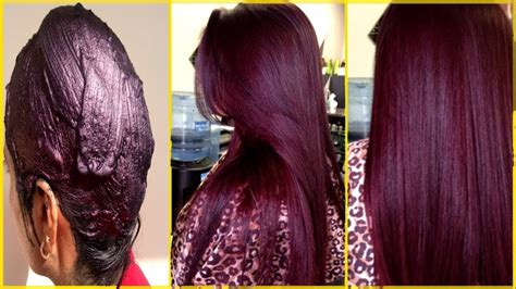 How Make 100 % Natural Burgundy Hair Color With Henna