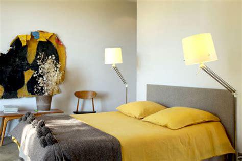 deco chambre jaune et gris comment associer la couleur jaune en d 233 co d int 233 rieur