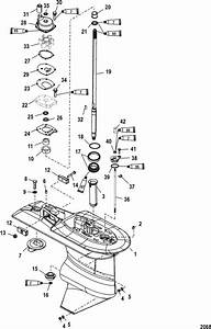 Wiring Diagram For Mercury Outboard Motor