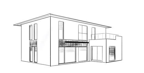 Häuser Zum Zeichnen