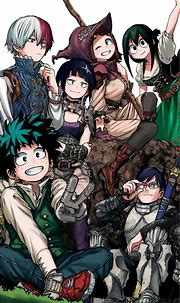 BNHA ending theme wallpaper by TheWolfyWolf - 17 - Free on ...
