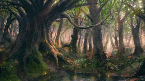 fantasy forest wallpaper  images