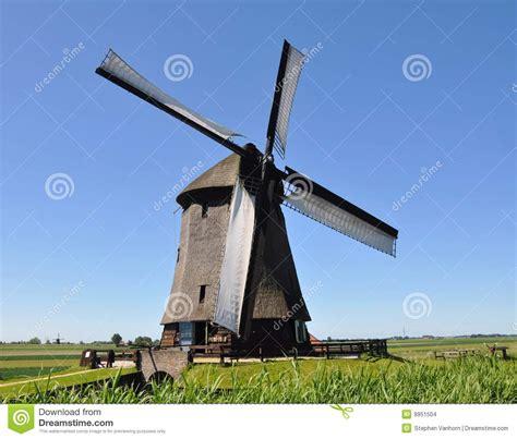 windmill stock photo image  farm holland