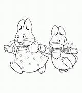 Ruby Max Coloring Pages Bridges Printable Clipart Peter Drawing Cartoon Colouring Rabbit Para Colorear Printables Sheets Pig Bestcoloringpagesforkids Birthday Az sketch template