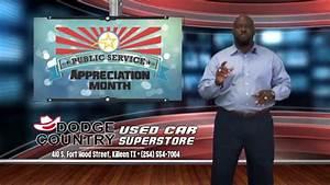 Public Service Appreciation Sale Dodge Country Used Cars