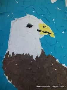 Good Light Scraps Love We Heart Art Torn Paper Eagles
