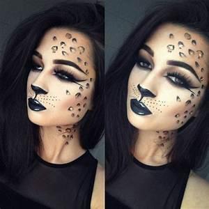 Karneval Gesicht Schminken : leopard gesicht schminken 56 tolle ideen ~ Frokenaadalensverden.com Haus und Dekorationen