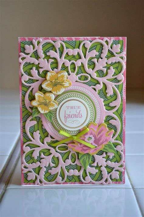 Aly Dosdall Anna Griffin Cutting Dies Cards