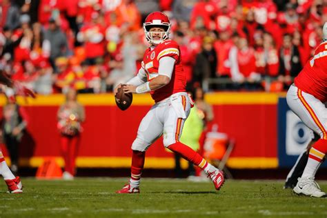 Chiefs Patrick Mahomes Ranked Second To Brees In Red Zone