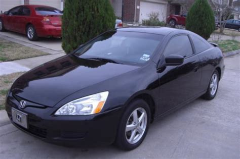 honda accord coupe  black