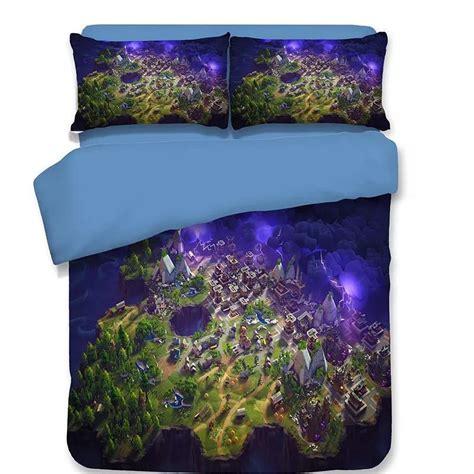 game fortnite bedding set duvet cover set bedroom set