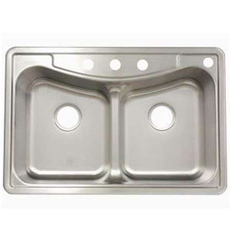 franke sink home depot franke drop in stainless steel 22x33x9 4 basin
