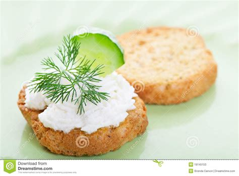 cool canapes cool cucumber canape stock photos image 19145153