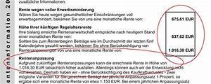 Wie Kann Ich Meine Rente Berechnen : renteninformation welche informationen gibt sie wirklich ~ Themetempest.com Abrechnung